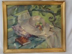 Huile sur toile signée E. Zemp-Tobler